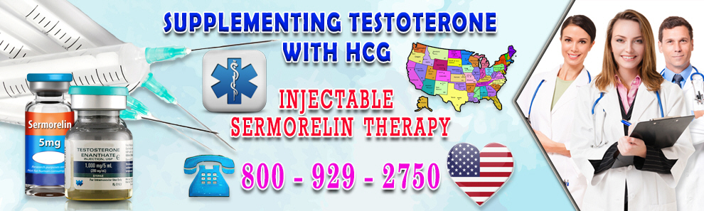 Sermorelin and Testosterone Supplementing with HCG