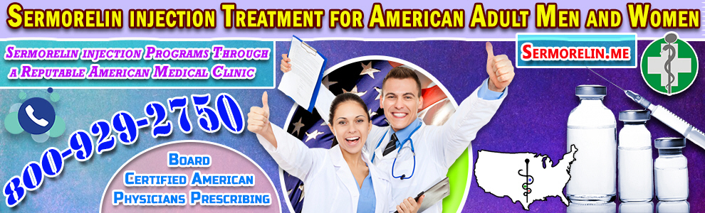 51 sermorelin injection treatment for american adul men and women