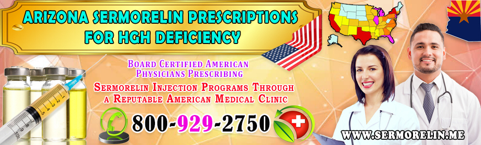arizona sermorelin prescriptions hgh deficiency