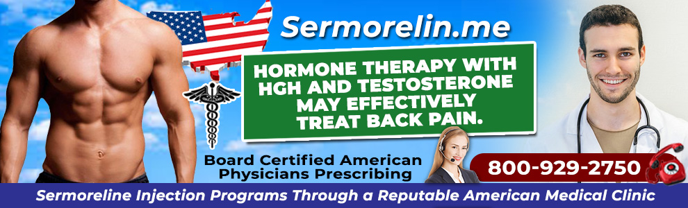 hormone therapy with hgh and testosterone may effectively treat back pain