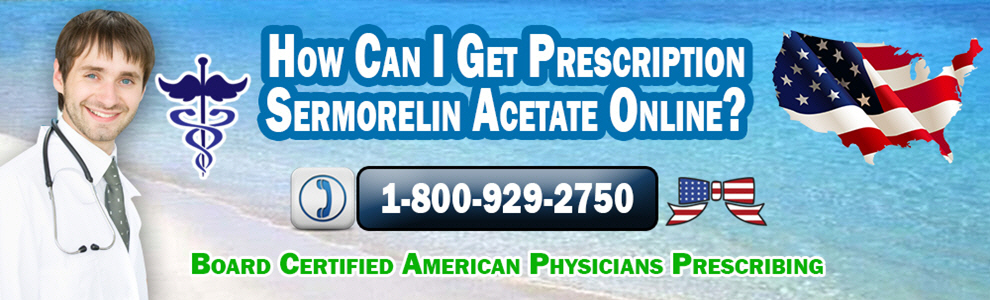 how can i get prescription sermorelin acetate online