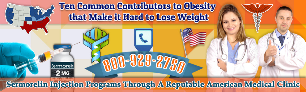 ten common contributors obesity make hard lose weight