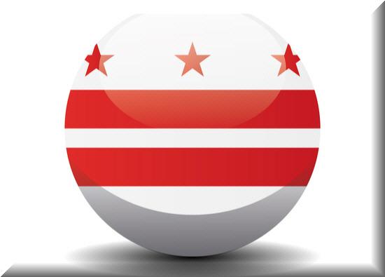 Washington D.C state flag, medical clinics
