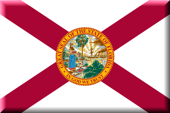 Florida state flag, medical clinics