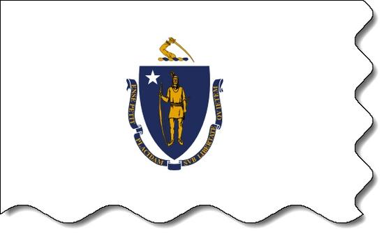 Massachusetts state flag, medical clinics