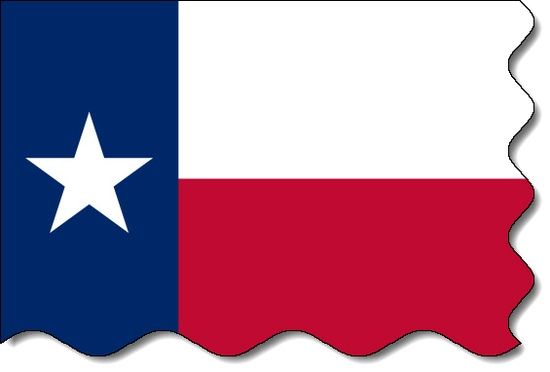 Texas state flag, medical clinics