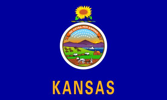 Kansas state flag, medical clinics