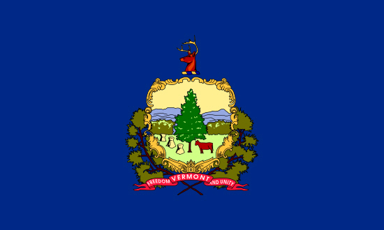 Vermont state flag, medical clinics