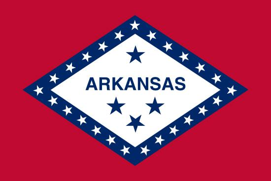 Arkansas state flag, medical clinics