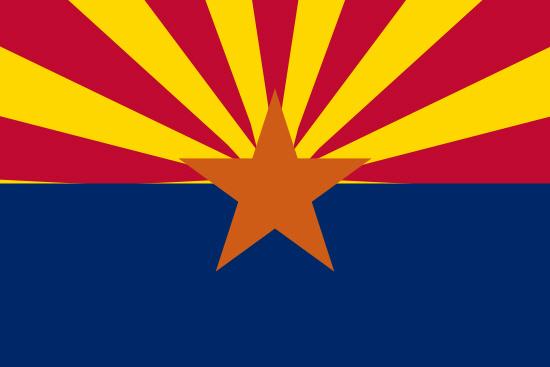 Arizona state flag, medical clinics