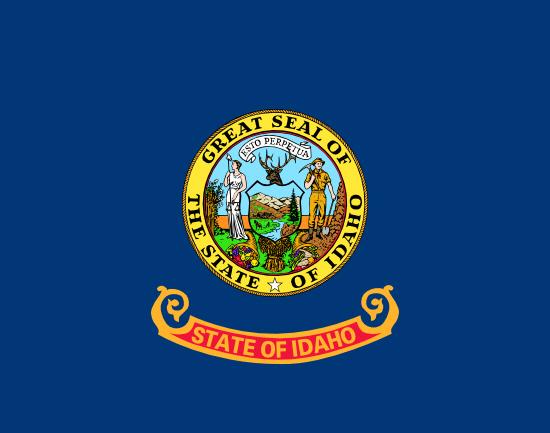 Idaho state flag, medical clinics
