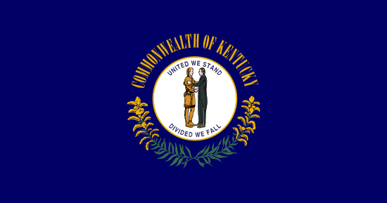 Kentucky state flag, medical clinics