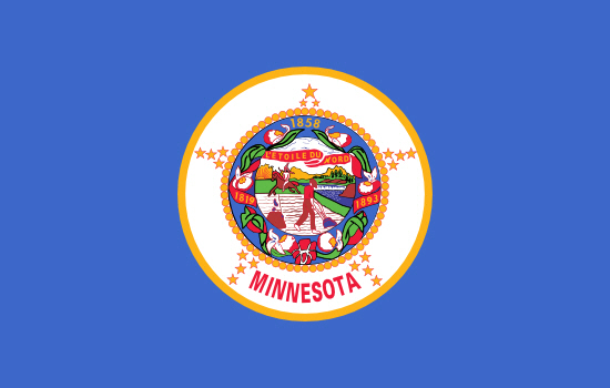 Minnesota state flag, medical clinics