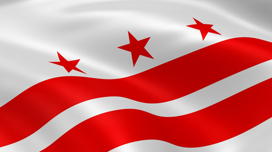 Washington D.C state flag, medical clinics