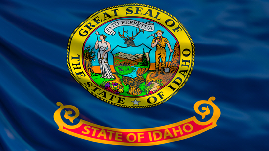 Idaho state flag, medical clinics