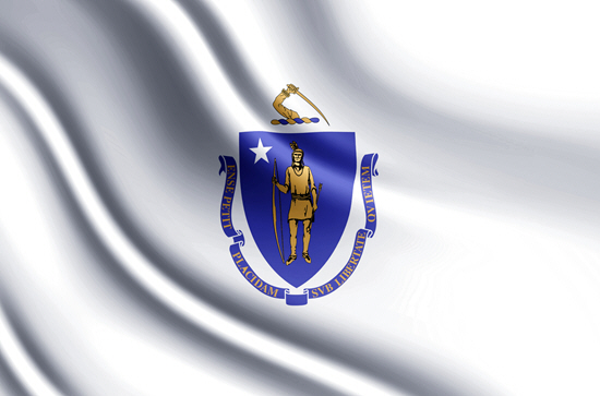 Massachusetts state flag, medical clinics