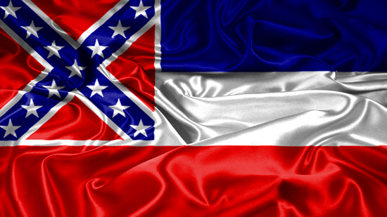 Mississippi state flag, medical clinics