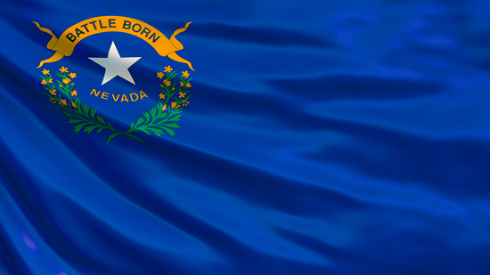 Nevada state flag, medical clinics
