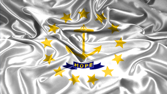 Rhode Island state flag, medical clinics