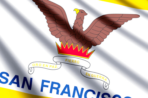 San Francisco state flag, medical clinics