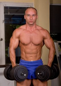 muscle build a key benefit of tesoterone