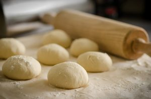 white flour dough 300x196