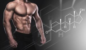Muscular male body and testosterone hormone formula 300x176