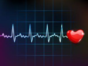 cardiogram with red heart shape_zy5VJYod_L 300x225