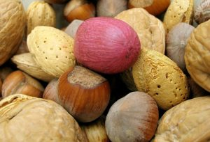 mixed nuts fat source of vitamin E 300x204